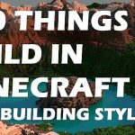 100builds Minecraft 100 Things to build in Minecraft