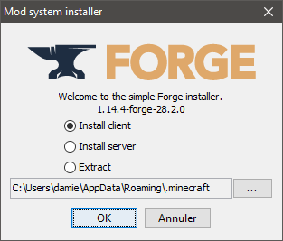 launcher forge How to install Optifine with Forge on Windows
